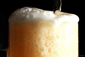 foamy drink